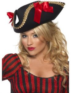 Deluxe Ladies Pirate Hat